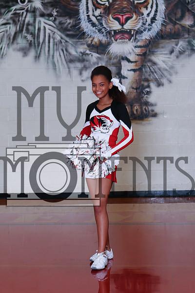 Bremond Varsity Cheerleaders 2016-17