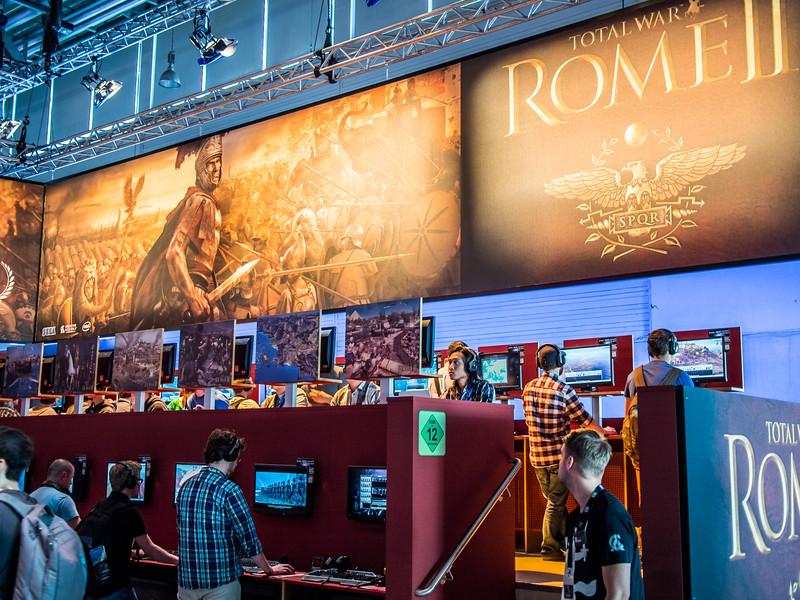 Total War: Rome II at Gamescom 2013