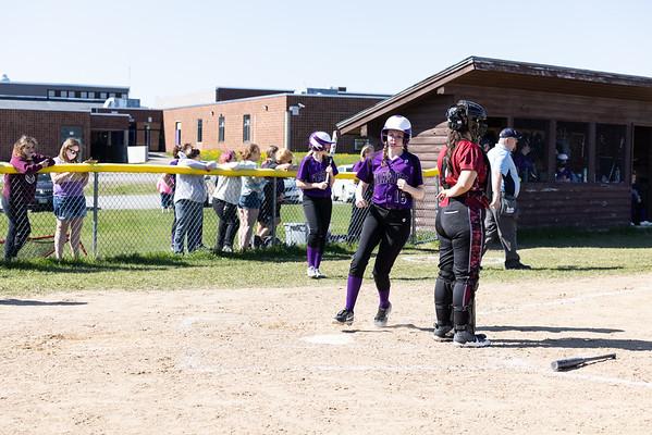 SA Varsity Girls VS East Grand Softball 5/14/21