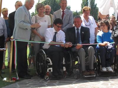 Conferenza Stampa e Inaugurazione Campo Nazionale Paralimpica
