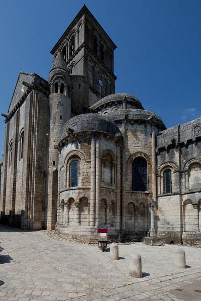 Chauvigny, Saint Peter Collegial Church Chevet