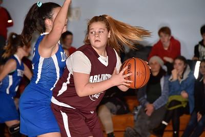 AMHS M.S. Girls Basketball vs Dorset photos by Gary Baker