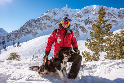 Ski Patrol and Avalanche Dogs January 2017