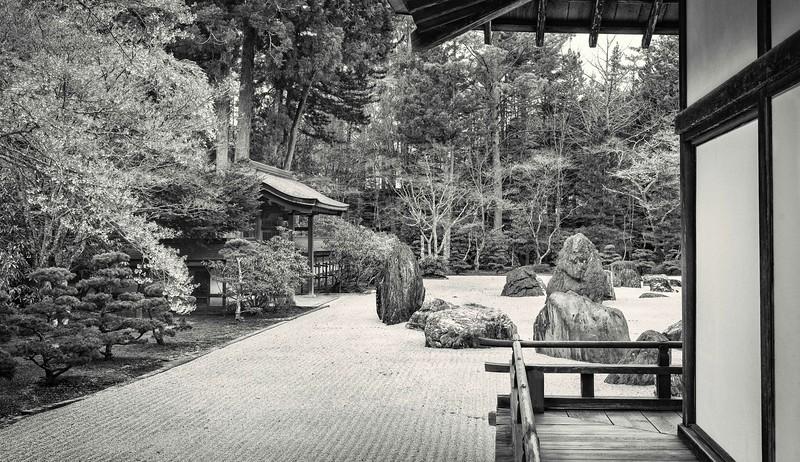 Rock Garden at the Kongobuji Temple