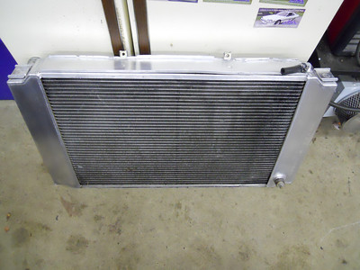 Aftermarket custom radiator