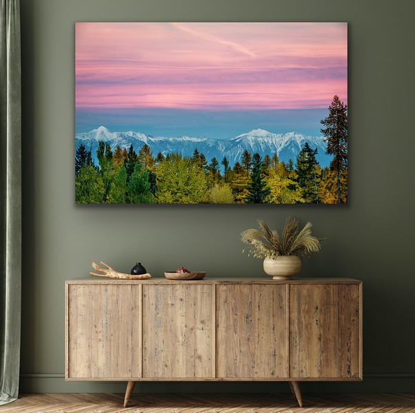'Hues of Autumn' Canvas Wrap or Float Mount Metal Print