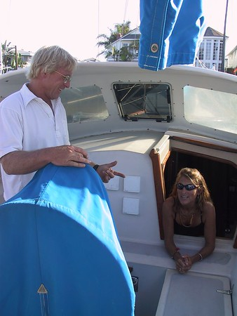 Suzi and Dave get a new boat