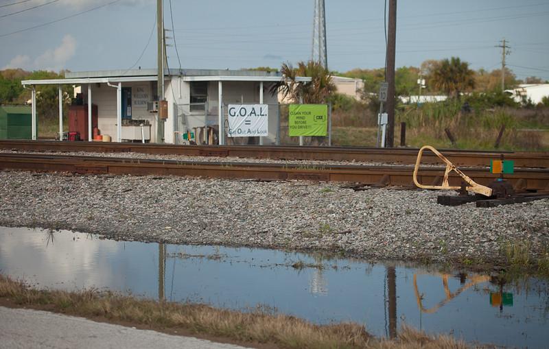 CSX yard office in Mulberry, Fl.