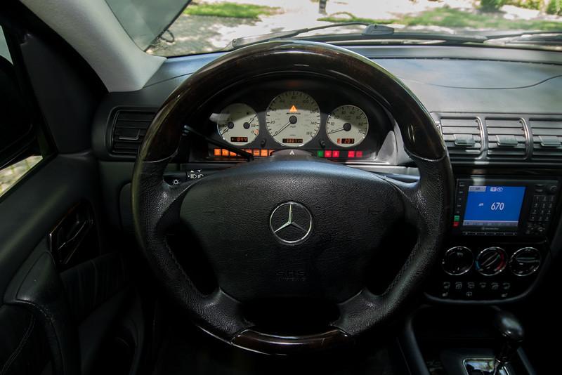 ML55 steering wheel