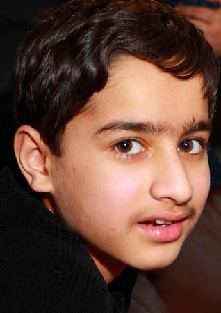 Nadeem Khan, family & friends