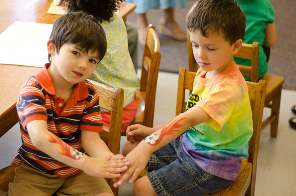 PreSchool Face Painting