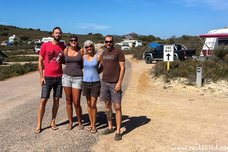 Lucky Bay Cape Le Grand N.P., Sebastian, Melanie aus Tirol