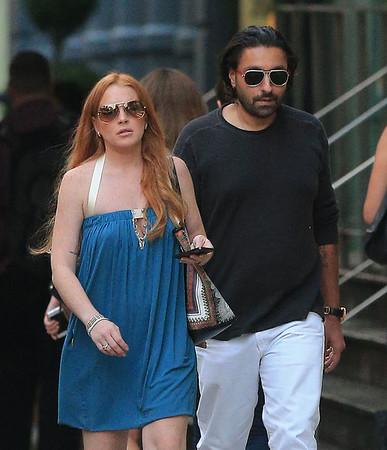 2013-08-20 - Lindsay Lohan