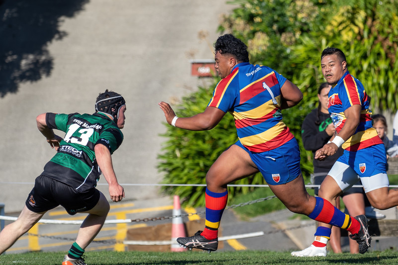 Tawa v Wainuiomata,  Tawa, Wellington, New Zealand,  24 April 2021.