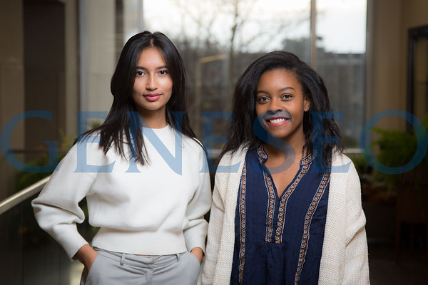 Thasfia Chowdhury and Chelsea Pierre-Louis