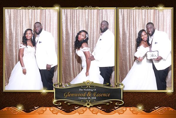 THE WEDDING OF GLENWOOD & ESSENCE