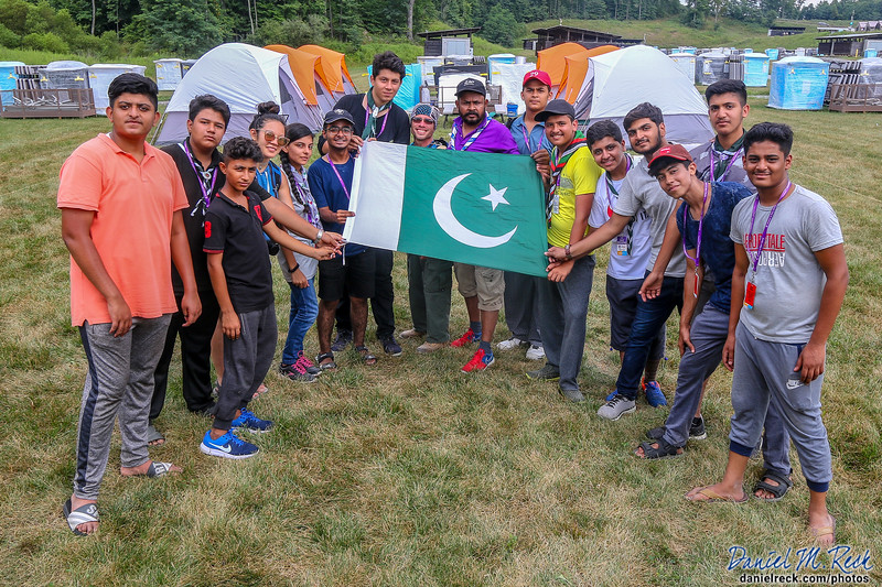 Welcome Our Pakastani Scouts to the World Jamboree