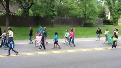 Whitpain CSFC Parade