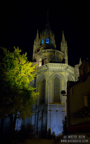 Notre Dame at Night 2 Photography by Wayne Heim