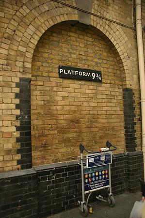 Our visit to Platform 9 3-4