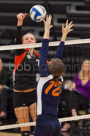 Oxy Women's Volleyball vs Pomona Pitzer 9-25-12