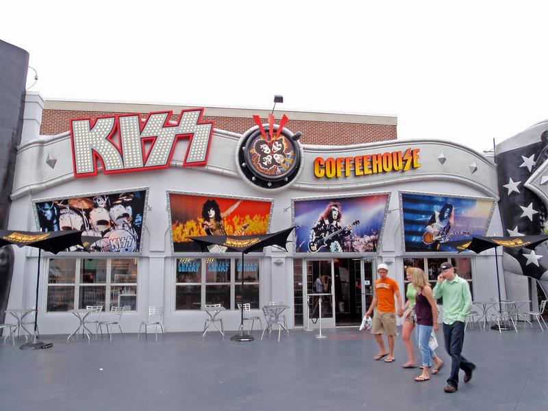 Kiss has a coffeehouse?  Weird.