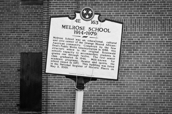 The old Melrose School 2011 Edition