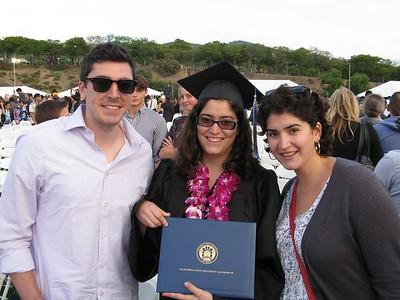 Alicia's Graduation from CSU San Marcos