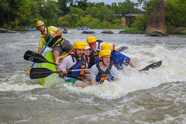 RVA Paddlesports 7-30-16 Afternoon Trip