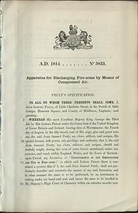 Samuel John Pauly's August 04, 1814 British Patent