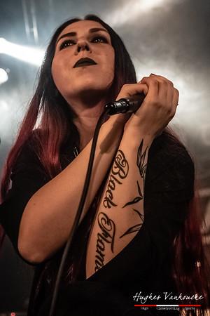 Ignea (UCR) @ Female Metal Voices Tour - Biebob - Vosselaar - Belgium/Bélgica