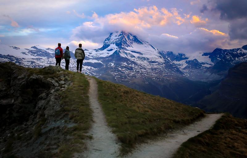 Matterhorn Hike, Switzerland