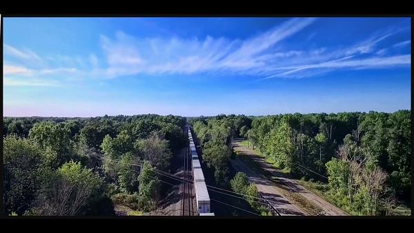 Freight Train at Deer Creek Reservoir