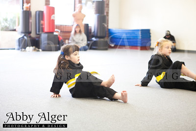 Karate Class with children with Autism