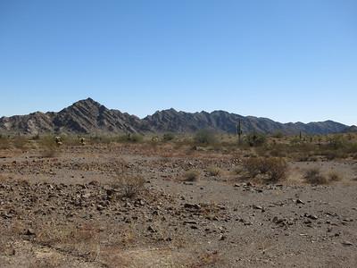 Sierra Arida Mtns, Peak 1770 - Feb. 7, 2021