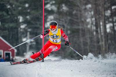 KVAC/MVC Slalom Girls' Second Run