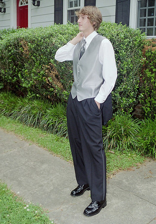 Elliott before the Prom -- 2004