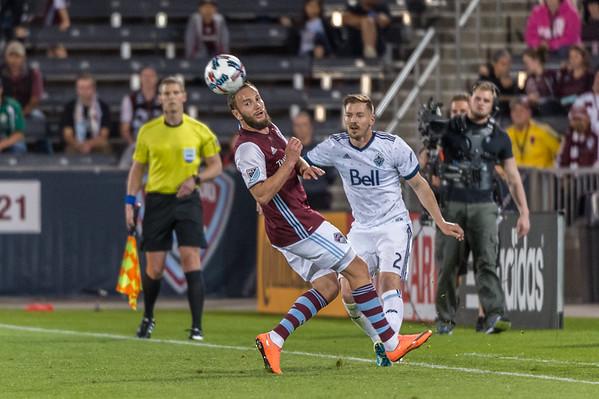 Colorado Rapids vs Vancouver Whitecaps - MLS Soccer - 2017-05-05