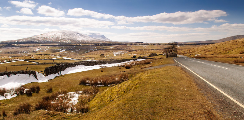 Ingleborough in the snow