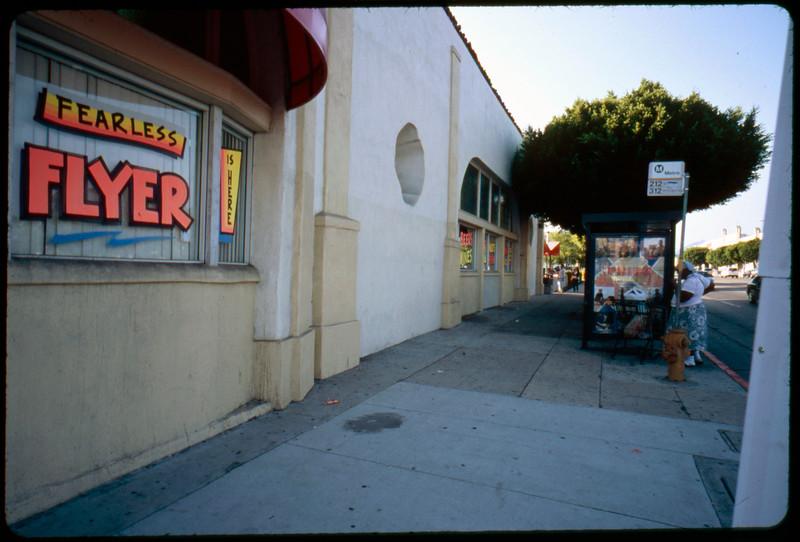 Reiss posters in situ, Los Angeles, 2005