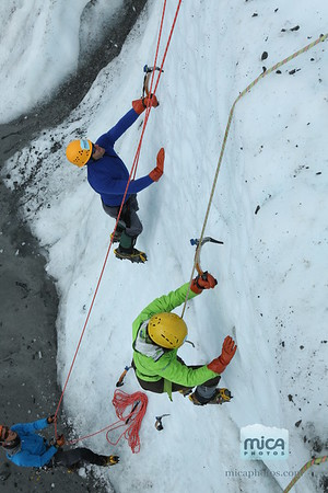 Ice Climbing with Bretts