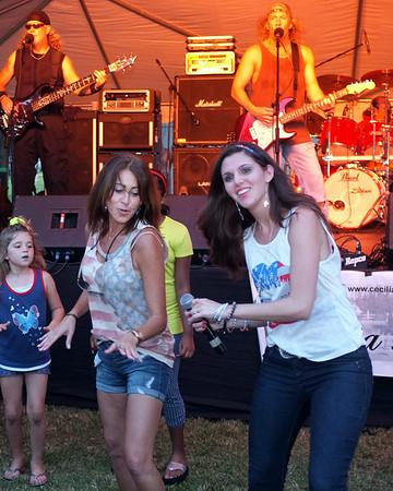 Cecilia Lauren & the Ocoee River band!