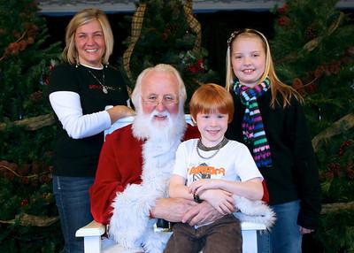 Santa Pictures 2011