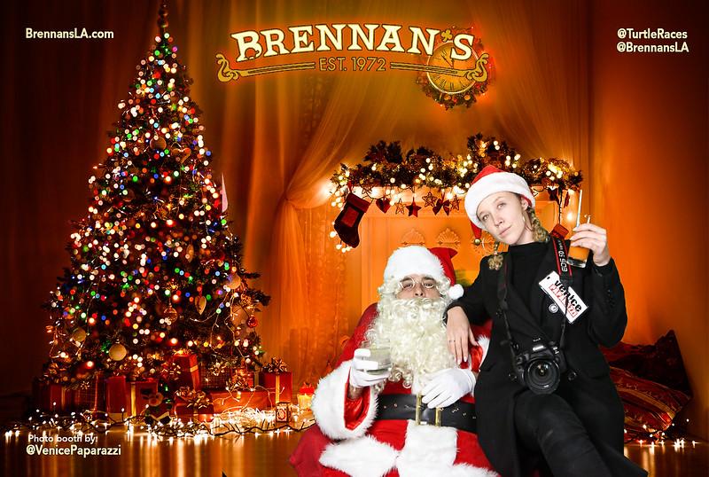 Brennan's Bad Santa Photo Booth by VenicePaparazzi.com