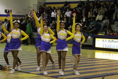 Cheerleaders at Championship Games