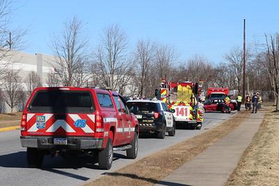 Vehicle Accident - Logistics Drive - February 16, 2019