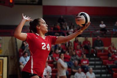 """RJB Volleyball """"Senior Night"""" vs Alex  9-29-21"""