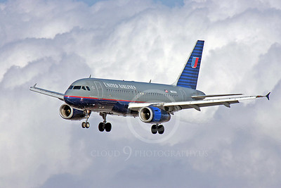 United Airline Airbus A319 Airliner Pictures
