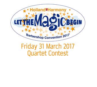 2017-0331 HH Convention - Quartet Contest