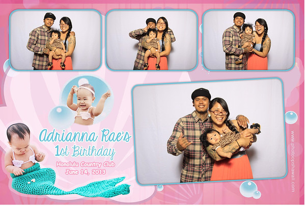Adrianna 1st Birthday (Fusion Portraits)